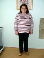 ДО коррекции веса