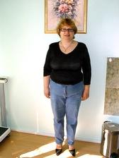 ПОСЛЕ коррекции веса (потеря веса составила 12,8 кг)